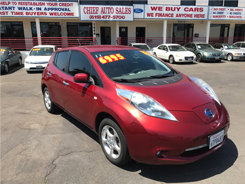 2011 Nissan LEAF for sale in National City, CA