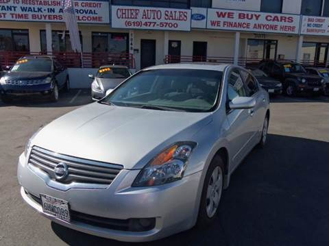2007 Nissan Altima for sale in National City, CA