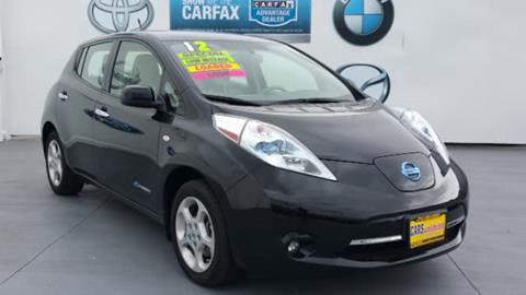 2012 Nissan LEAF for sale in Santa Ana, CA
