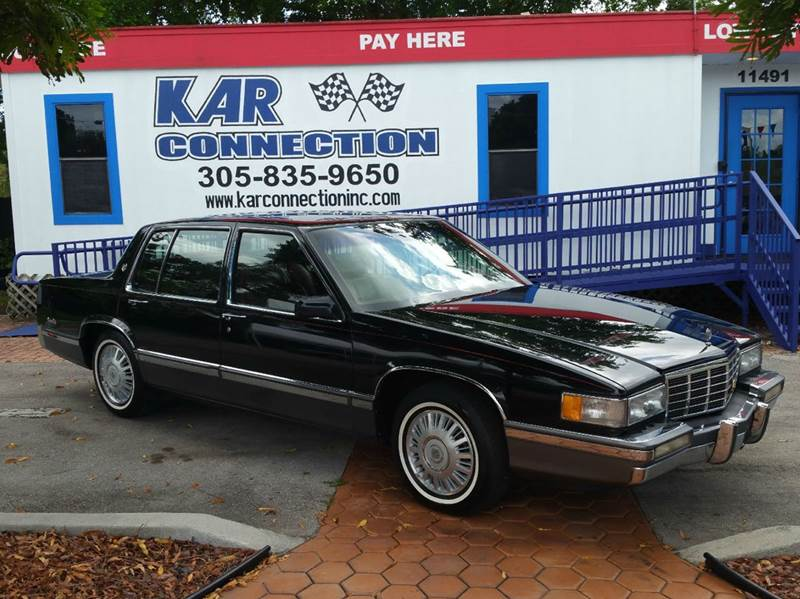 1992 cadillac deville 4dr sedan in miami fl kar. Cars Review. Best American Auto & Cars Review