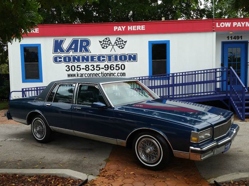 Buy Here Pay Here Miami >> 1989 Chevrolet Caprice Classic Brougham 4dr Sedan In Miami ...