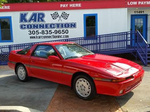 1989 Toyota Supra for sale in Miami, FL