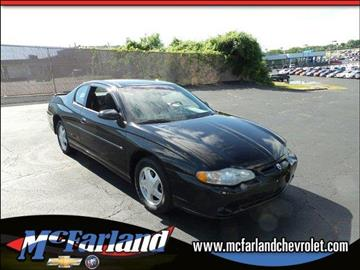 2000 Chevrolet Monte Carlo for sale in Maysville, KY