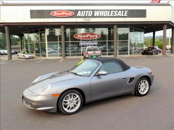 2003 Porsche Boxster for sale in Milwaukie, OR
