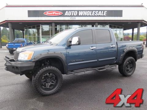 2013 Nissan Titan for sale in Milwaukie, OR