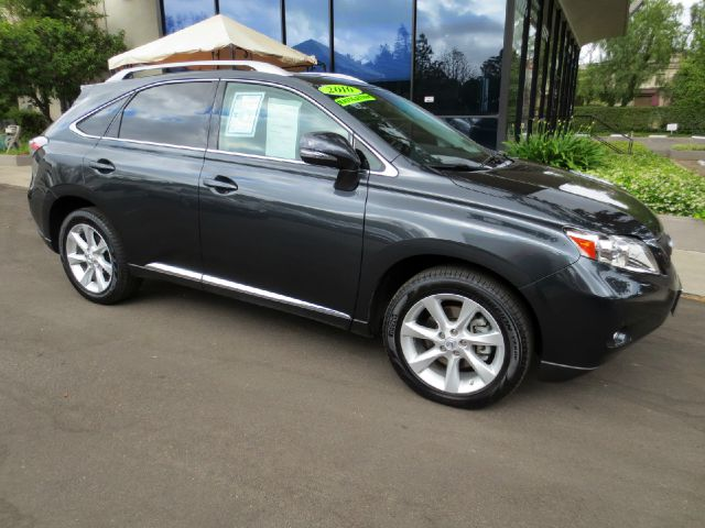 2010 LEXUS RX 350 4DR SUV smoky granite mica equipped with  premium pkg  navigation  backup