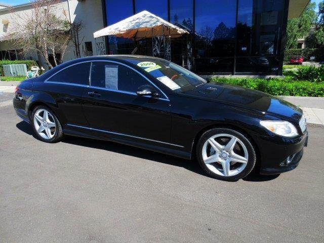 2009 MERCEDES-BENZ CL-CLASS CL550 4MATIC AWD 2DR COUPE black  why pay more  no haggle pricing