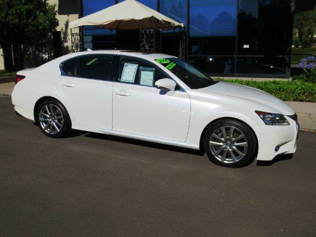 2014 LEXUS GS 350 4DR SEDAN starfire pearl nicely equipped with  premium pkg  navigation  dv