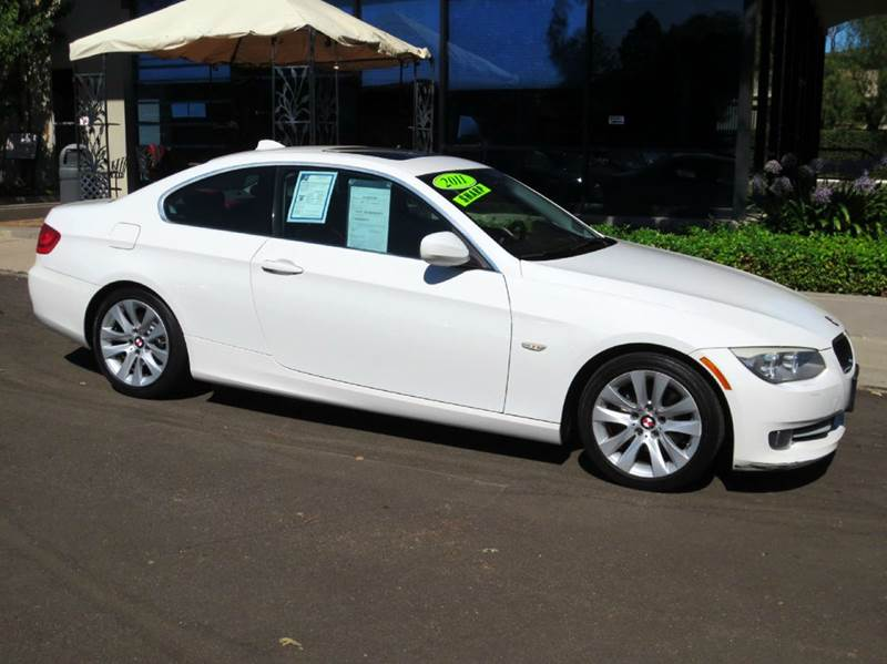 2011 BMW 3 SERIES 328I 2DR COUPE SULEV alpine white factory equipped with  premium pkg  tilt