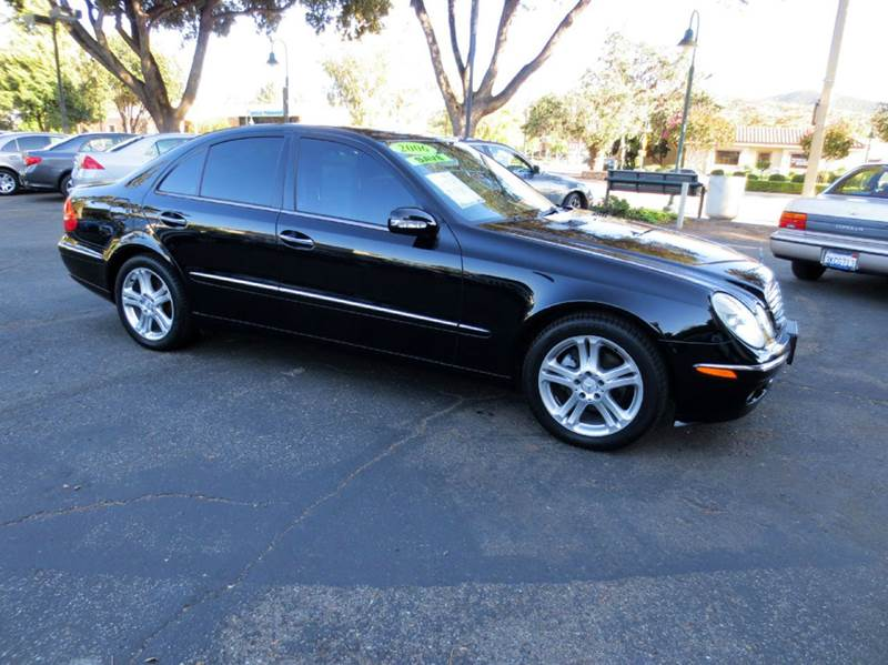 2006 MERCEDES-BENZ E-CLASS E350 4DR SEDAN black nicely equipped with navigation premium pkg har