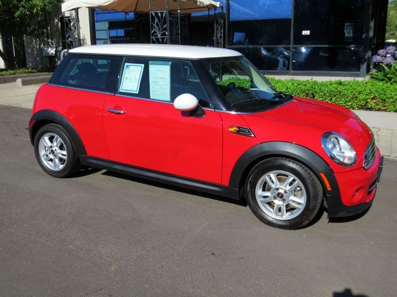 2011 MINI COOPER 2DR HATCHBACK red equipped with  power windows and door locks  tilt and tele