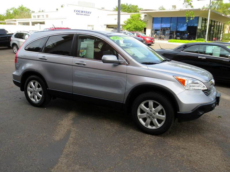 2007 HONDA CR-V EX-L 4DR SUV silver nicely equipped with leather seating moon roof plus much mor