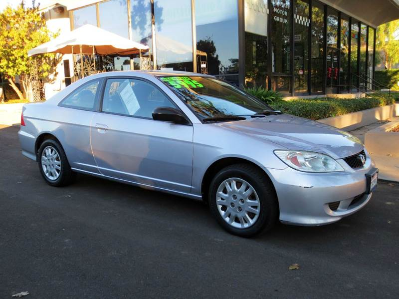 2004 HONDA CIVIC LX 2DR COUPE silver perfect timing rare find and  fuel efficient  carfax cer