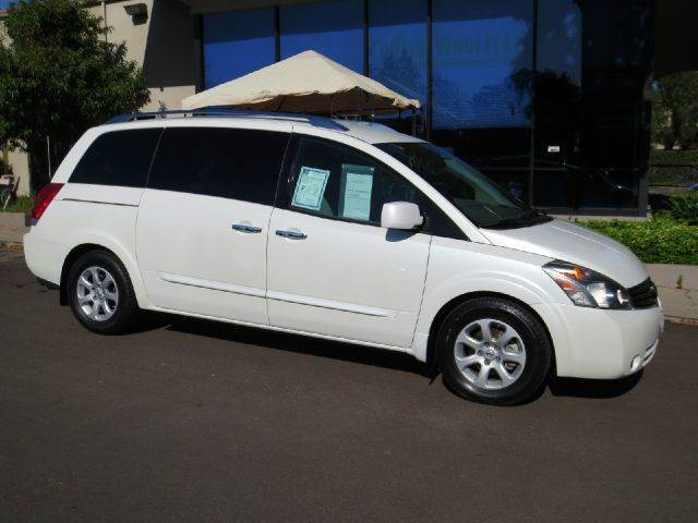 2008 NISSAN QUEST 35 S MINI VAN PASSENGER white this quest is equipped with power windows and