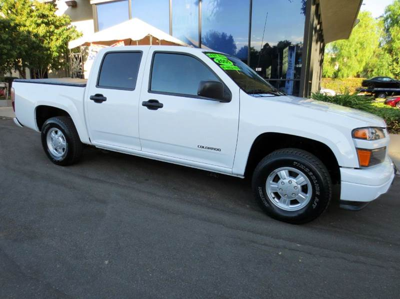 2005 CHEVROLET COLORADO Z85 LS BASE 4DR CREW CAB RWD SB white  extra clean automatic transmiss
