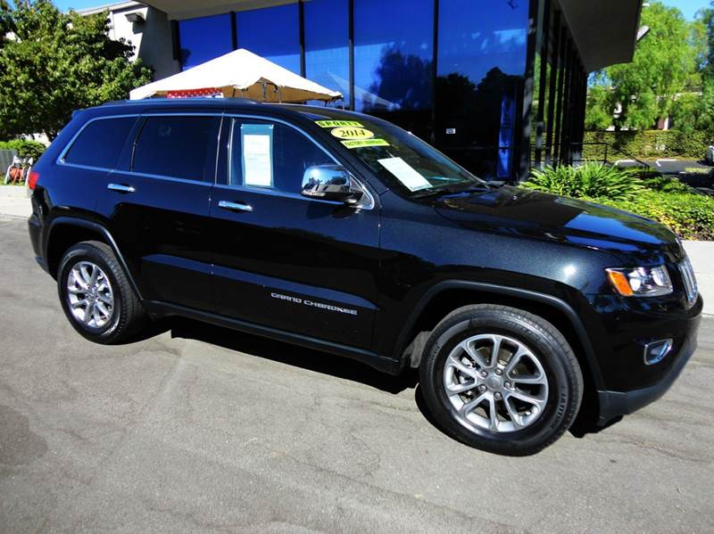 2014 JEEP GRAND CHEROKEE LIMITED 4X2 4DR SUV black  1 owner extra clean vehicle was originally