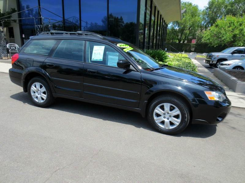 2005 SUBARU OUTBACK 25I LIMITED AWD 4DR WAGON black memorial day sale  nicely equipped awd wit