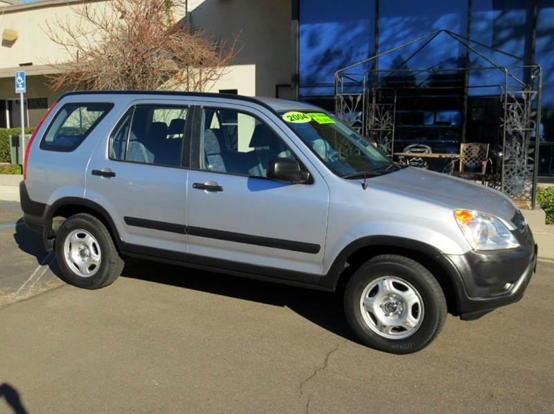 2004 HONDA CR-V LX 4DR SUV silver one owner low mileage must see to appreciate 5 star safety r