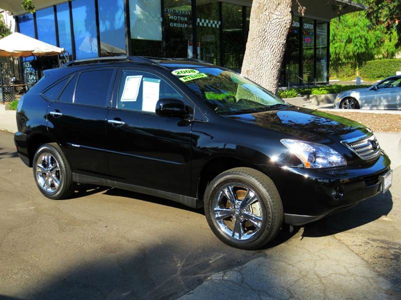 2008 LEXUS RX 400H 4DR SUV black this low low mileage rx is equipped with  navigation  mark le