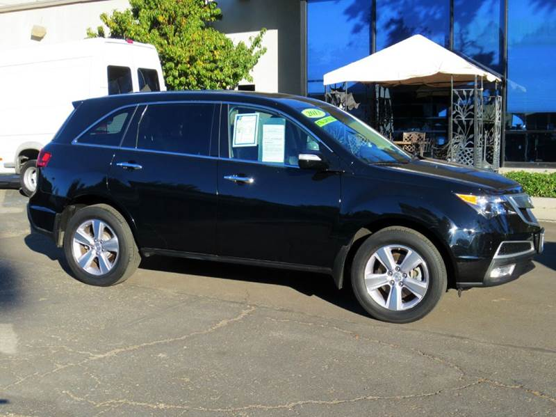 2013 ACURA MDX SH-AWD WTECH 4DR SUV WTECHNOLO black simply elegant luxurious with extra low mi