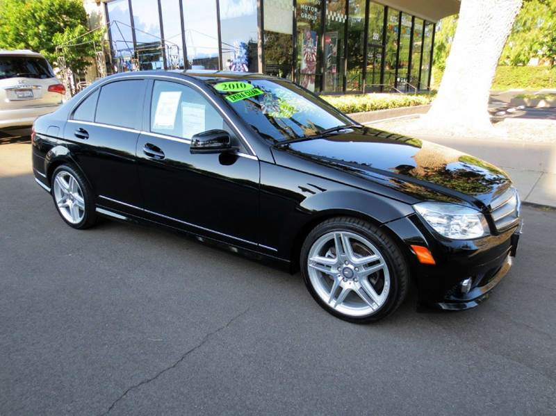 2010 MERCEDES-BENZ C-CLASS C300 SPORT 4DR SEDAN black memorial day sale  nicely equipped with n