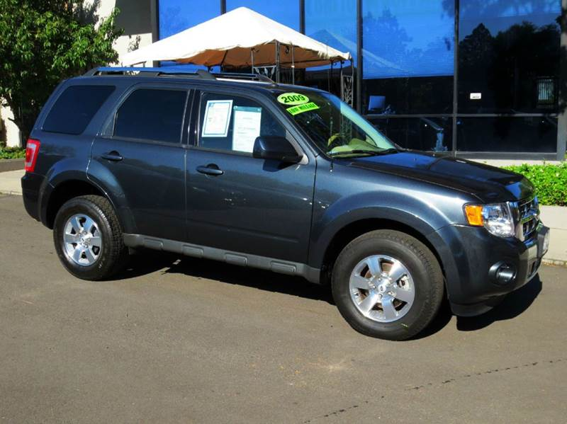 2009 FORD ESCAPE LIMITED 4DR SUV V6 charcoal equipped with  leather  sync  power seat  al