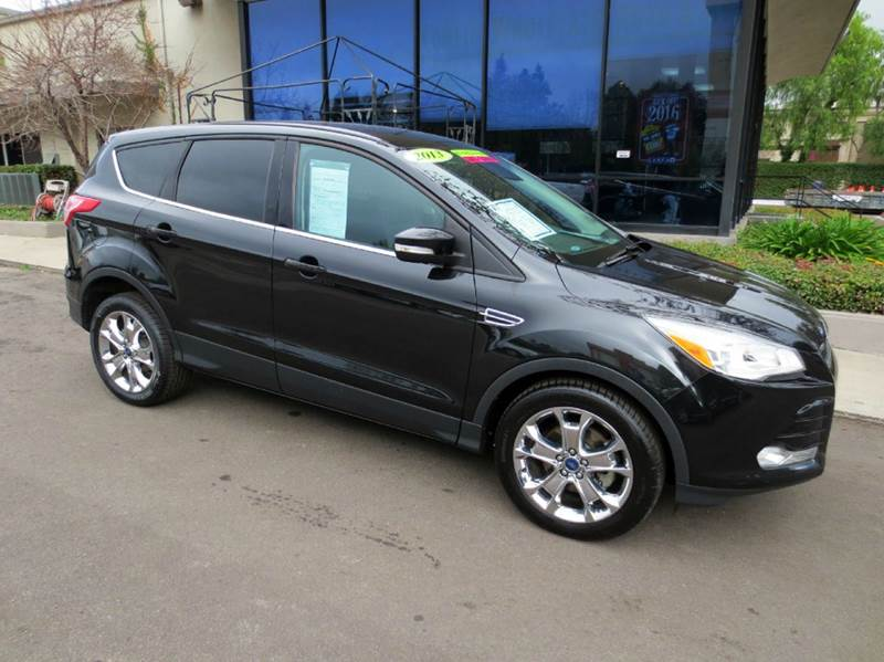 2013 FORD ESCAPE SEL 4DR SUV black luxurious leather seating power heated driver seat chrome al