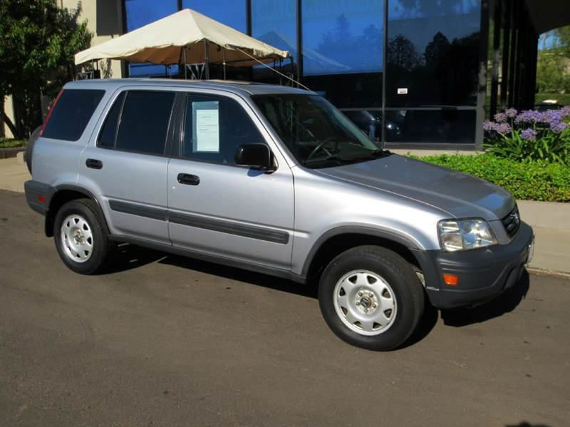 2001 HONDA CR-V LX 2WD 4DR SUV silver equipped with  power windows and door locks  tilt wheel