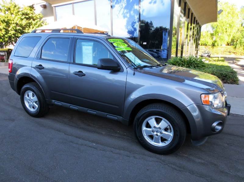 2010 FORD ESCAPE XLT 4DR SUV charcoal  1 owner great condition local vehicle alloy wheels p
