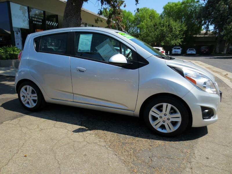2014 CHEVROLET SPARK 1LT CVT 4DR HATCHBACK silver nicely equipped economy vehicle with power windo