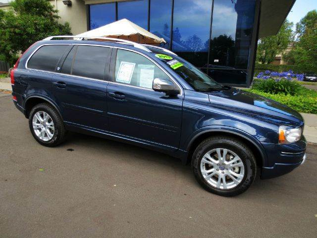 2013 VOLVO XC90 32 PREMIER PLUS 4DR SUV blue caspian met factory equipped with  blis  dual p