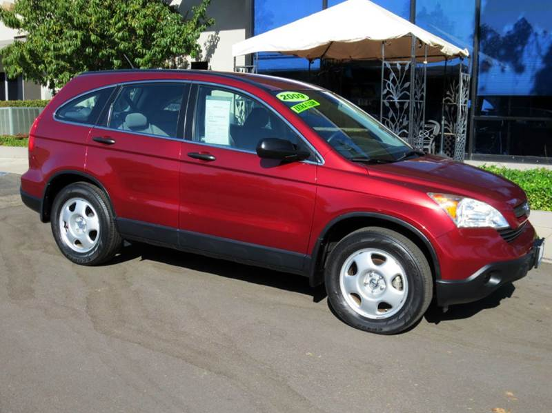 2009 HONDA CR-V LX 4DR SUV red tango pearl best selling small suv  one owner non smoker