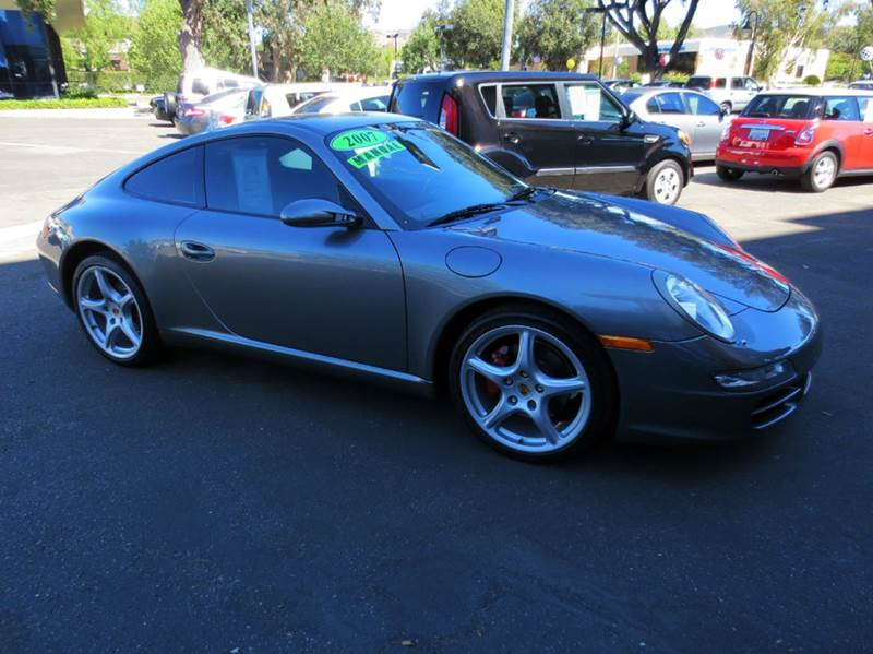 2007 PORSCHE 911 CARRERA 2DR COUPE grey nicely equipped with full leather navigation 18 carrera