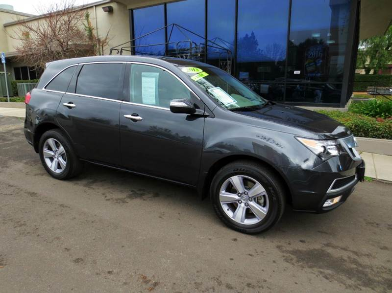 2013 ACURA MDX SH-AWD WTECH 4DR SUV WTECHNOLO graphite sharp with navigation  it is like new a