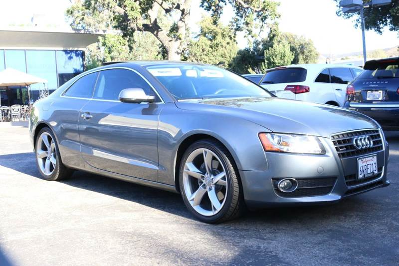 2012 AUDI A5 20T QUATTRO PREMIUM PLUS AWD 2D monsoon gray  1 owner extra clean w service reco