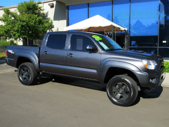 2013 TOYOTA TACOMA PRERUNNER V6 4X2 4DR DOUBLE CAB black metallic equipped with  trd sport pkg