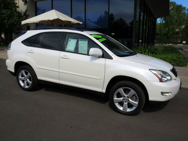 2006 LEXUS RX 330 BASE AWD 4DR SUV white nicely equipped with navigation leather moon roof  c