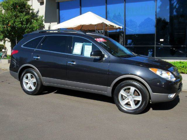 2007 HYUNDAI VERACRUZ LIMITED CROSSOVER 4DR black equipped with  rear air  infinity premium s