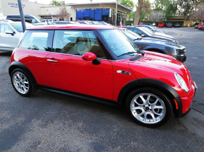 2006 MINI COOPER S 2DR HATCHBACK red must see and drive full power leather seating panorama ro