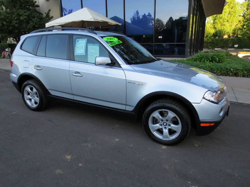 2007 BMW X3 30SI AWD 4DR SUV silver a must see and drive to appreciate low mileage panorama mo