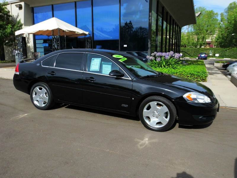 2007 CHEVROLET IMPALA SS 4DR SEDAN black equipped with  dual power seats  leather  moon roo