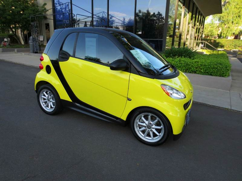 2008 SMART FORTWO PASSION 2DR HATCHBACK yellow extra clean with low mileage fuel efficient rated