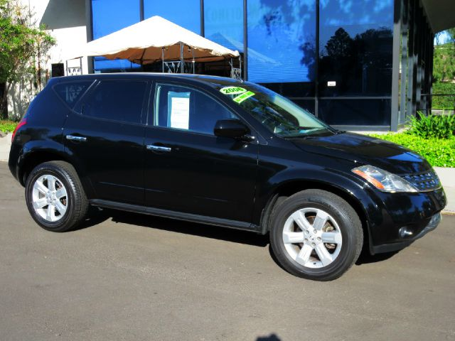 2006 NISSAN MURANO S AWD 4DR SUV black nicely equipped with  power seat  leather  privacy g