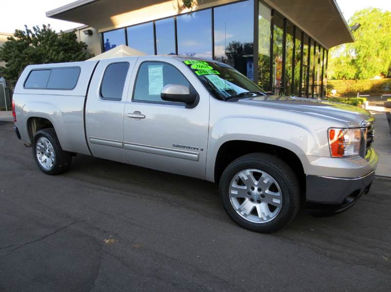 2008 GMC SIERRA 1500 SLE1 2WD 4DR EXTENDED CAB 65 FT silver birch 1 owner in great condition