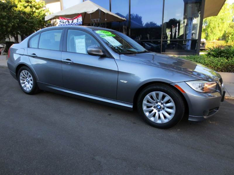2009 BMW 3 SERIES 328I 4DR SEDAN SULEV SA gray nicely equipped with navigation premium pkg moon
