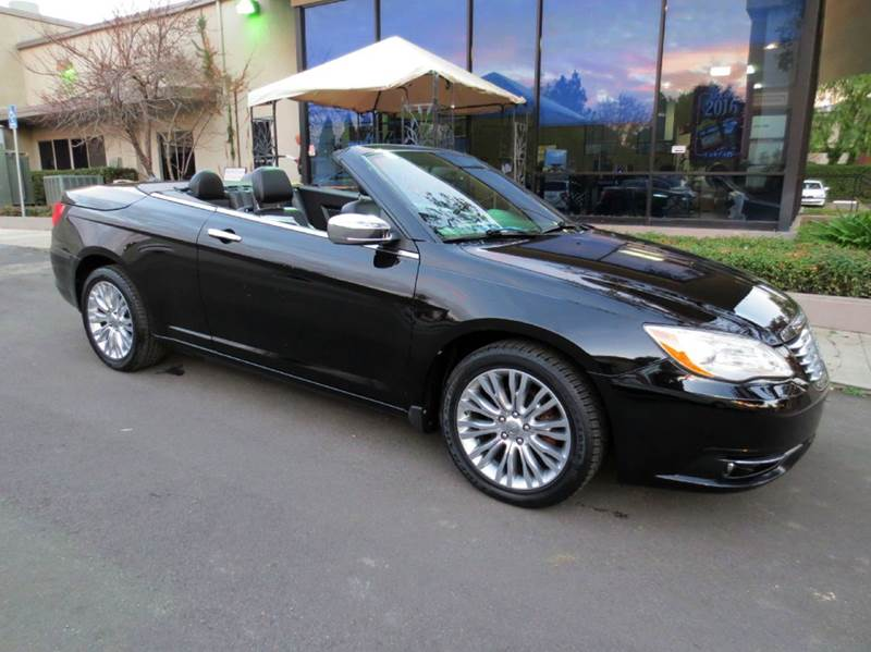 2011 CHRYSLER 200 CONVERTIBLE LIMITED 2DR CONVERTIBLE black new year sale black beauty luxurious