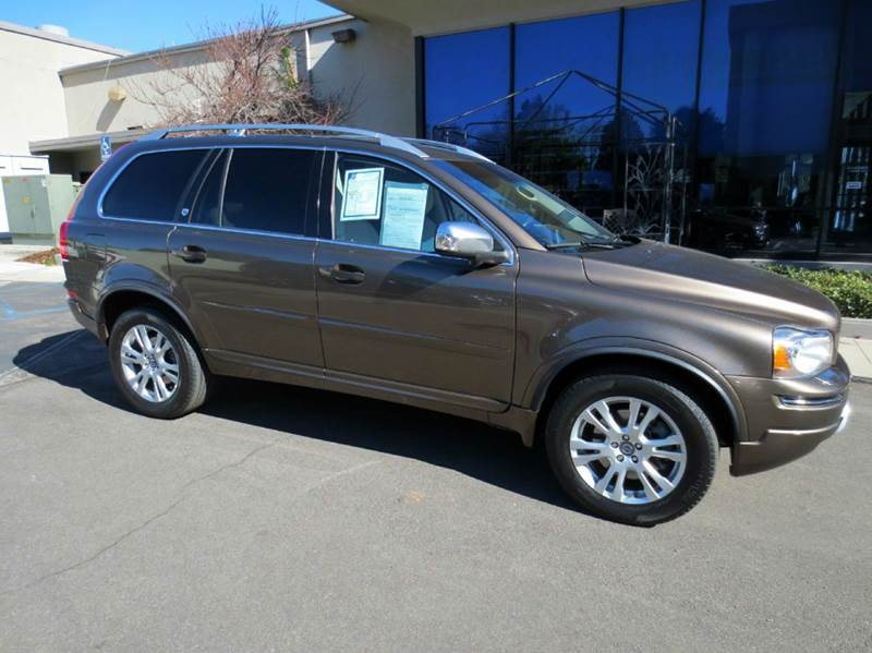 2013 VOLVO XC90 32 PLATINUM 4DR SUV bronze  luxurious low mileage with navigation rear view