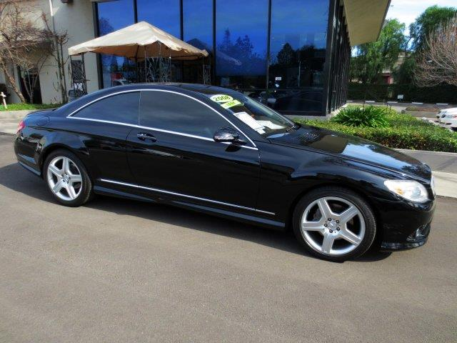 2008 MERCEDES-BENZ CL-CLASS CL550 COUPE black  why pay more  no haggle pricing right now  e