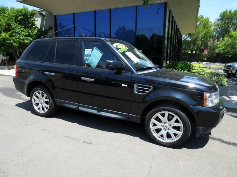 2009 LAND ROVER RANGE ROVER SPORT HSE 4X4 4DR SUV W LUXURY PACKAG santorini black memorial day s