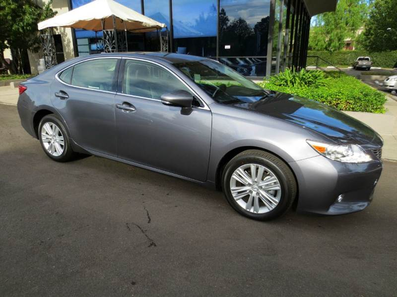 2015 LEXUS ES 350 4DR SEDAN nebula gray wife not happy with her surprise gift  too bad his loss